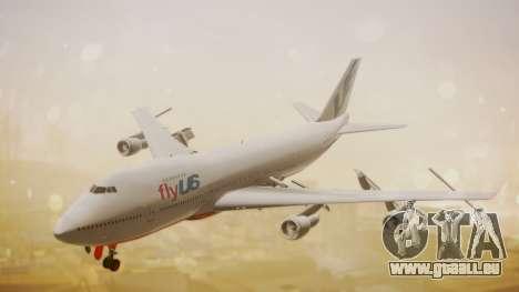 Boeing 747-200 Fly US für GTA San Andreas
