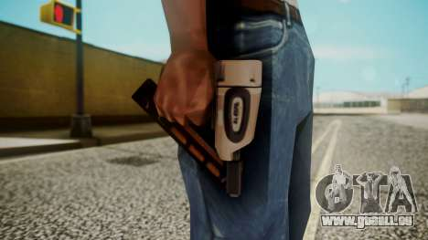 Nail Gun from Resident Evil Outbreak Files für GTA San Andreas dritten Screenshot