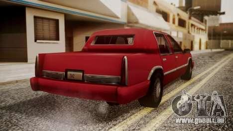 Stretch Sedan für GTA San Andreas linke Ansicht