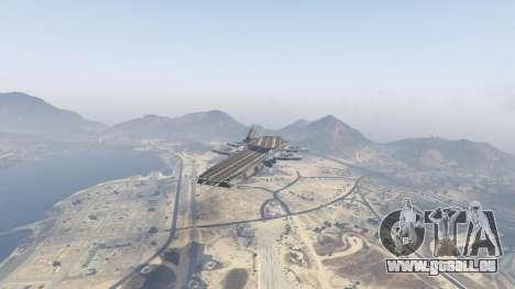 GTA 5 S.H.I.E.L.D. Helicarrier zweite Screenshot