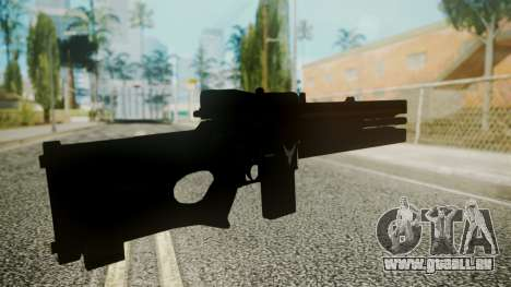 VXA-RG105 Railgun with Stripes für GTA San Andreas dritten Screenshot