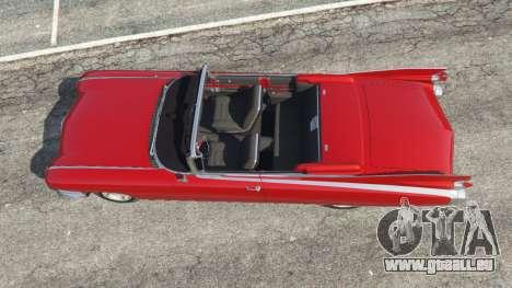 GTA 5 Cadillac Eldorado vue arrière