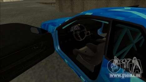 Nissan Skyline R32 Drift Blue Star pour GTA San Andreas vue de droite