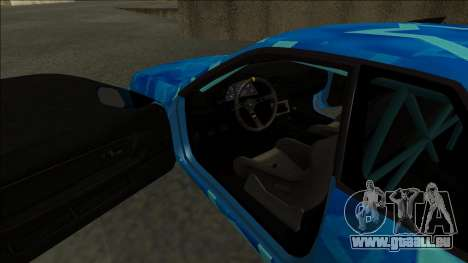 Nissan Skyline R32 Drift Blue Star für GTA San Andreas rechten Ansicht