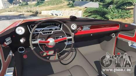 GTA 5 Cadillac Eldorado arrière droit vue de côté