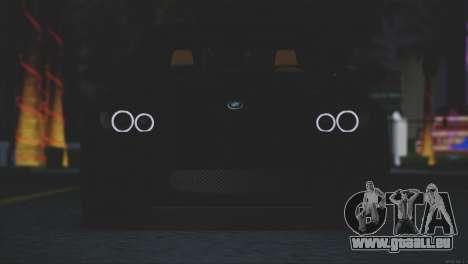 BMW M3 E92 2008 pour GTA San Andreas vue intérieure