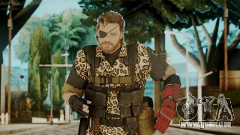 Venom Snake Animals für GTA San Andreas