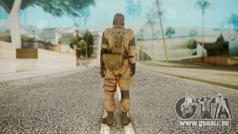 Venom Snake Golden Tiger pour GTA San Andreas troisième écran