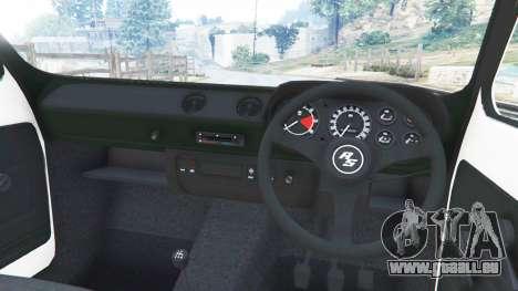 GTA 5 Ford Escort MK1 v1.1 [10] rechte Seitenansicht