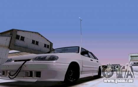 2114 Turbo pour GTA San Andreas vue de dessus
