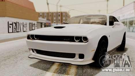 Dodge Challenger SRT Hellcat 2015 HQLM PJ für GTA San Andreas