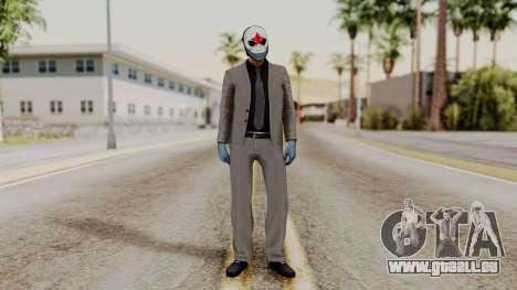 Payday 2 Sokol pour GTA San Andreas deuxième écran