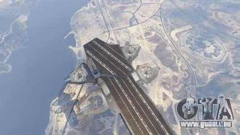 GTA 5 S.H.I.E.L.D. Helicarrier sechster Screenshot