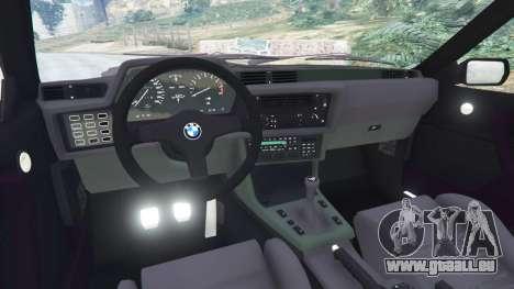 GTA 5 BMW M635 CSI (E24) 1986 rechte Seitenansicht