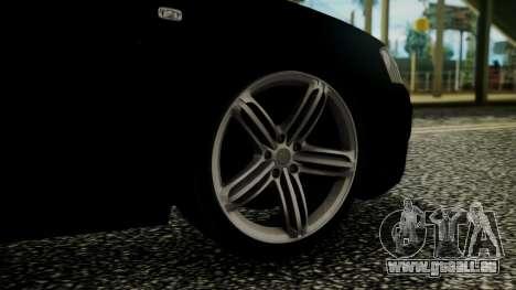 Audi A3 für GTA San Andreas zurück linke Ansicht