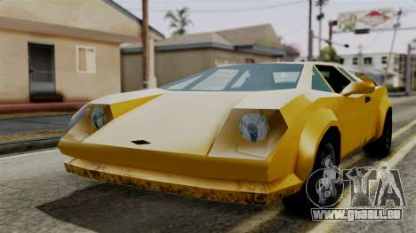 Infernus from Vice City Stories für GTA San Andreas