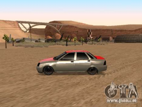 VAZ 2170 für GTA San Andreas zurück linke Ansicht