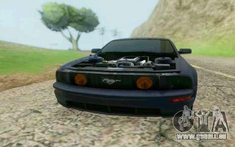 Ford Mustang GT 2005 für GTA San Andreas linke Ansicht