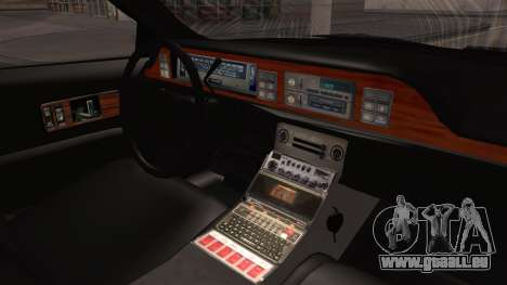 Chevy Caprice Station Wagon 1993-1996 NYPD pour GTA San Andreas vue de droite