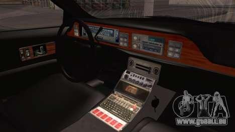Chevy Caprice Station Wagon 1993-1996 NYPD für GTA San Andreas rechten Ansicht