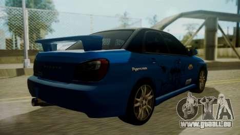 Subaru Impreza WRX GDA pour GTA San Andreas moteur