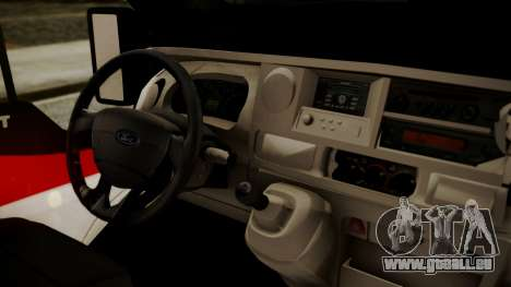 Ford Transit Jumbo Ambulance pour GTA San Andreas vue de droite