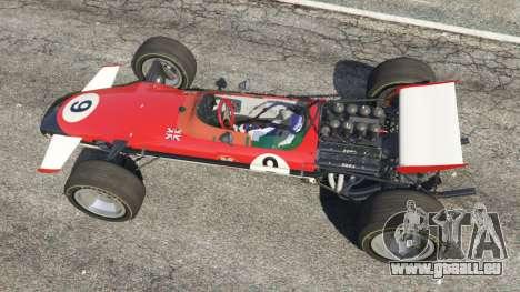 GTA 5 Lotus 49 1967 [ailerons] vue arrière