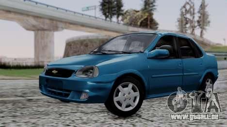 Chevrolet Corsa Classic 2009 v3 pour GTA San Andreas