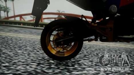 Honda MSX 125C Khmer für GTA San Andreas Rückansicht
