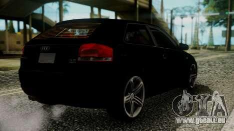 Audi A3 pour GTA San Andreas laissé vue