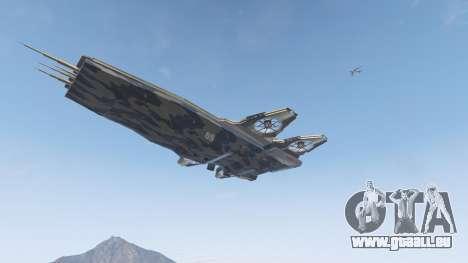 GTA 5 S.H.I.E.L.D. Helicarrier fünfter Screenshot