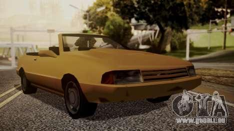 Cadrona Cabrio pour GTA San Andreas