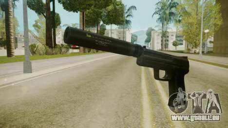 Atmosphere Silenced Pistol v4.3 pour GTA San Andreas