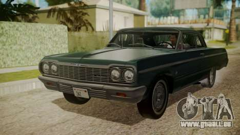 Chevrolet Impala SS 1964 Low Rider pour GTA San Andreas