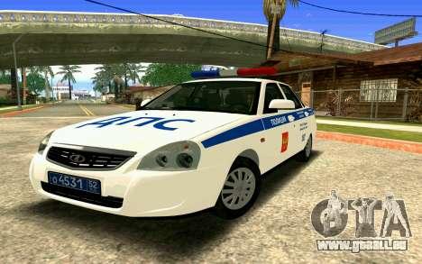 VAZ 2170 Priora DPS pour GTA San Andreas moteur