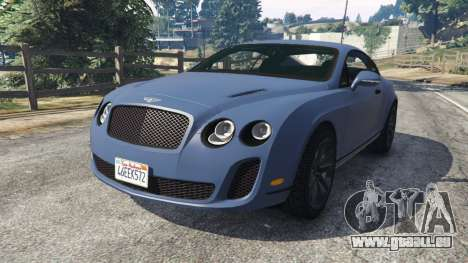 Bentley Continental Supersports [Beta2] für GTA 5