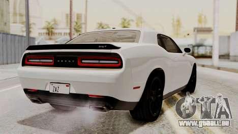 Dodge Challenger SRT Hellcat 2015 HQLM PJ für GTA San Andreas linke Ansicht