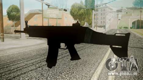 SCAR-L Battlefield 3 pour GTA San Andreas deuxième écran