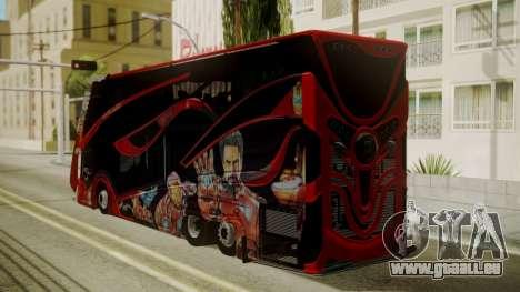 Bus Iron Man für GTA San Andreas linke Ansicht