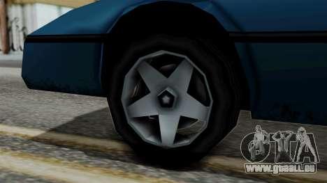 Banshee from Vice City Stories pour GTA San Andreas sur la vue arrière gauche