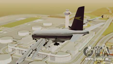 Airbus A380-800 British Overseas Airways Corp. für GTA San Andreas linke Ansicht
