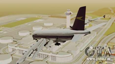 Airbus A380-800 British Overseas Airways Corp. für GTA San Andreas linke Ansicht