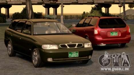 Daewoo Nubira I Spagon 1.8 DOHC 1998 pour le moteur de GTA 4