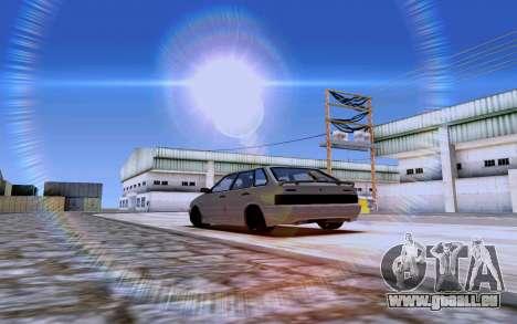 2114 Turbo pour GTA San Andreas laissé vue