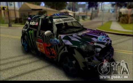 Mini Cooper Gymkhana 6 with Drift Handling pour GTA San Andreas