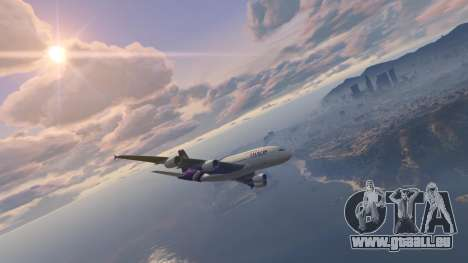 GTA 5 Airbus A380-800 v1.1 zweite Screenshot