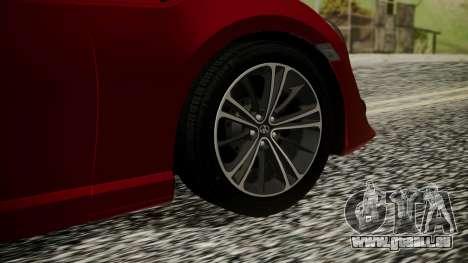 Toyota GT86 2012 LQ für GTA San Andreas zurück linke Ansicht