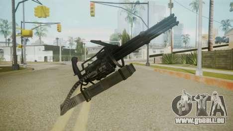 Atmosphere Minigun v4.3 für GTA San Andreas zweiten Screenshot