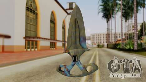 L'ombre de la Dague de durcissement de Surface pour GTA San Andreas deuxième écran