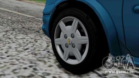 Chevrolet Corsa Classic 2009 v3 für GTA San Andreas zurück linke Ansicht